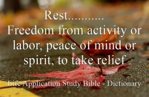 Rest-Freedom-from