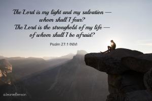 Psalm 27 1 niv
