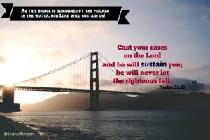 Psalm 55.22 niv