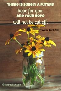 Proverbs 23 18 niv