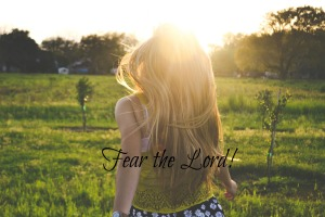 Fear he Lord