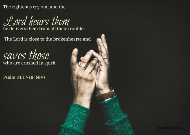 Psalm 34 17 18 niv