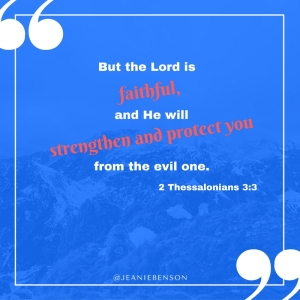 2 Thessalonians 3 3 faith strength protect